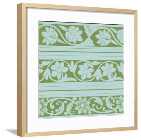 Spring Leaf Motif II--Framed Art Print
