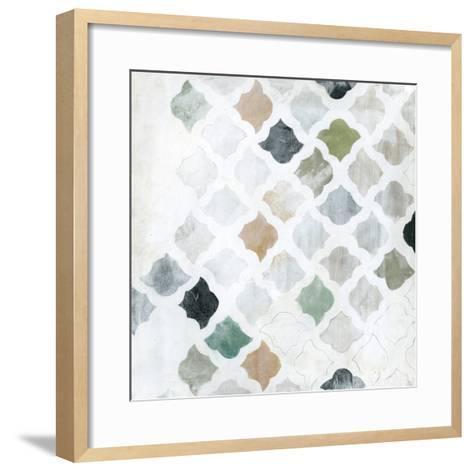 Turkish Tile I-Jodi Fuchs-Framed Art Print