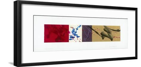 Cross Currents II-Jackie Battenfield-Framed Art Print