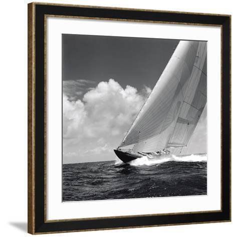 Rushing Waves II-Michael Kahn-Framed Art Print