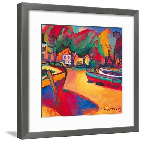 Conversation on the Coast-Gerry Baptist-Framed Art Print