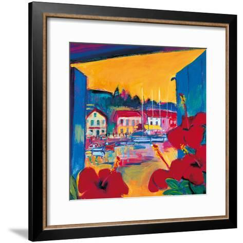 Harbour View-Gerry Baptist-Framed Art Print