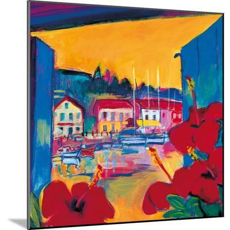 Harbour View-Gerry Baptist-Mounted Giclee Print