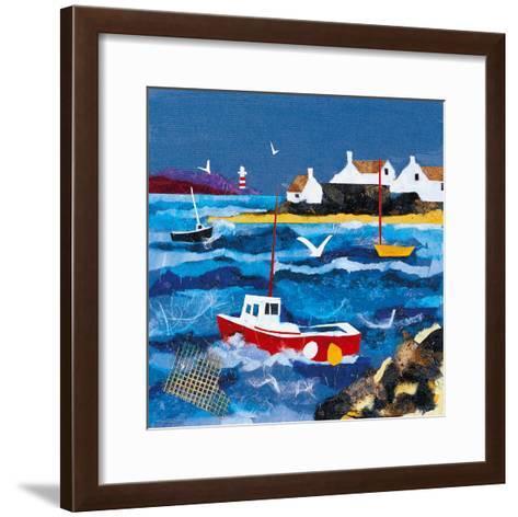 Harbour Lights I-Anuk Naumann-Framed Art Print