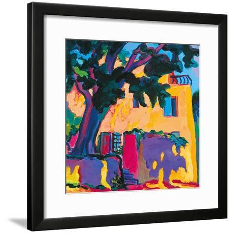 A Shady Corner-Gerry Baptist-Framed Art Print