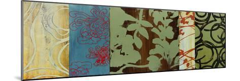 Life Patterns II-Bridges-Mounted Giclee Print