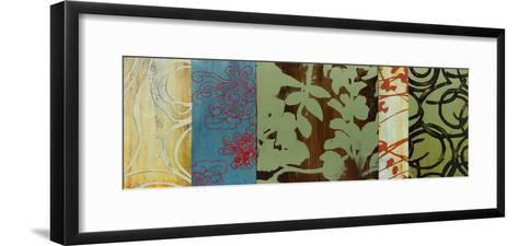 Life Patterns II-Bridges-Framed Art Print