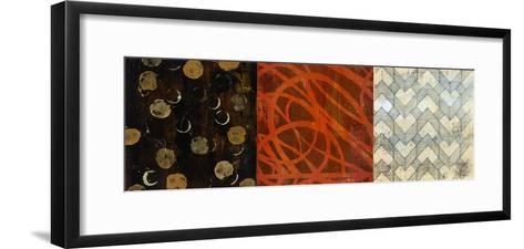 Graphic I-Bridges-Framed Art Print