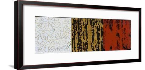 Graphic II-Bridges-Framed Art Print