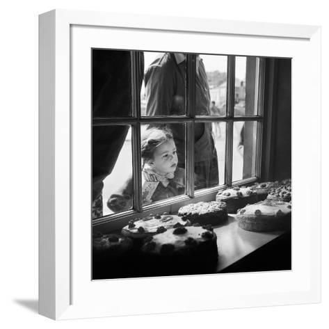 Cake Shop, Padstow, Cornwall, 1946-59-John Gay-Framed Art Print