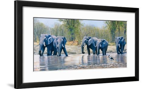 Nogatsaa Waterhole-Kim Thompson-Framed Art Print