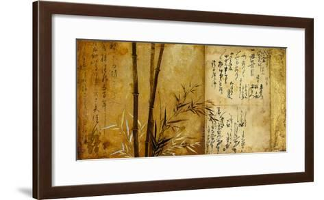 Notes From The Past II-Douglas-Framed Art Print