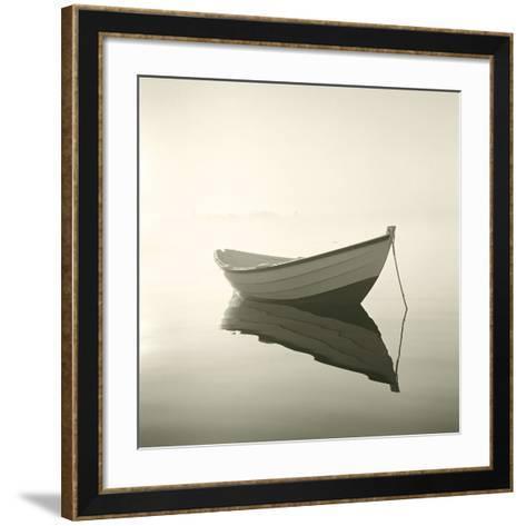 Morning Mist II-Michael Kahn-Framed Art Print