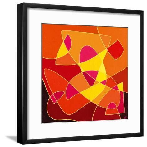 Dancing Light-Vesna Milinkovic-Framed Art Print