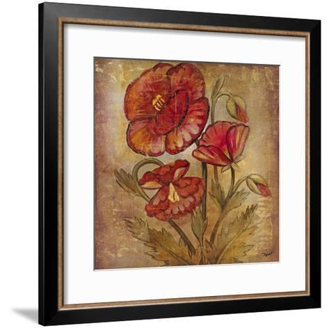 Ancient Floral II-Dysart-Framed Art Print