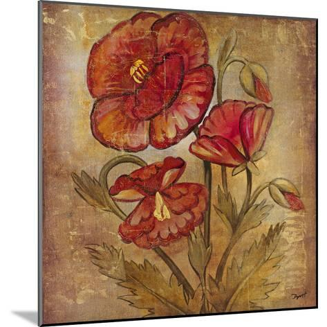 Ancient Floral II-Dysart-Mounted Giclee Print