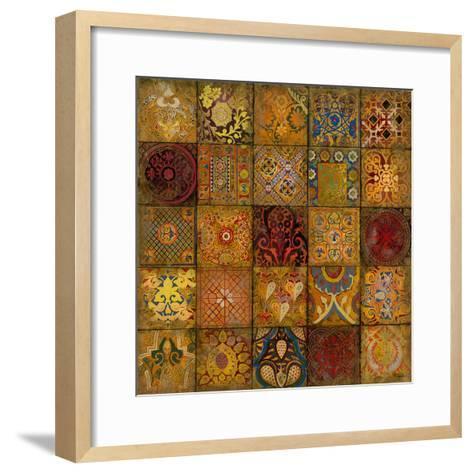 Mosaic III-Douglas-Framed Art Print