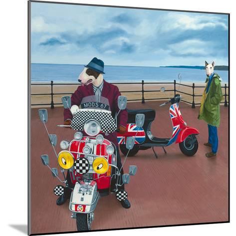 Mod Dogs-Paula Zimmermann-Mounted Giclee Print