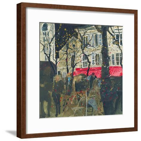 Autumn, Montmartre, Paris-Susan Brown-Framed Art Print