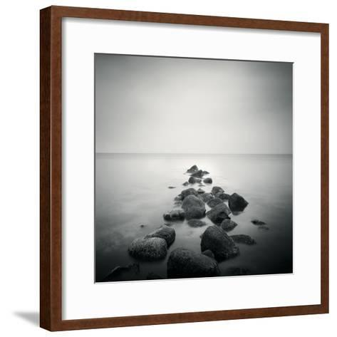 Stepping Into the Distance-Hakan Strand-Framed Art Print