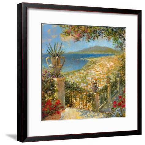Portofino Bay II-Longo-Framed Art Print