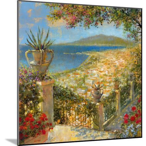 Portofino Bay II-Longo-Mounted Giclee Print
