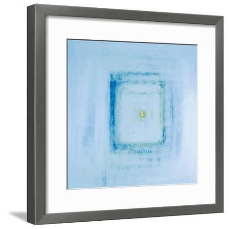 Transparent Blue I-James Maconochie-Framed Art Print