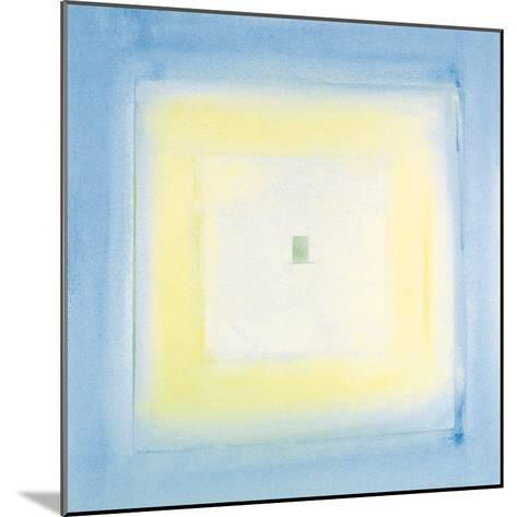 Transparent Blue II-James Maconochie-Mounted Giclee Print