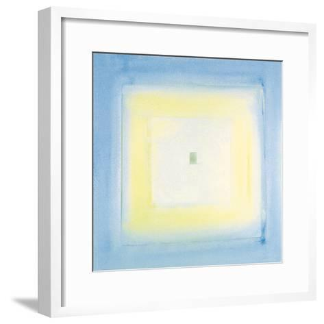 Transparent Blue II-James Maconochie-Framed Art Print