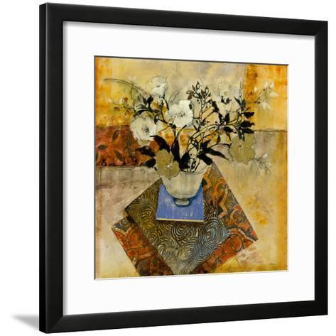 Patchwork Floral-Patrick-Framed Art Print