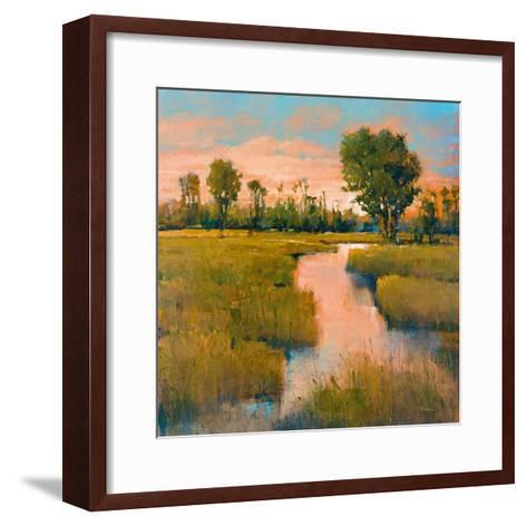 Heron Lake II-Patrick-Framed Art Print