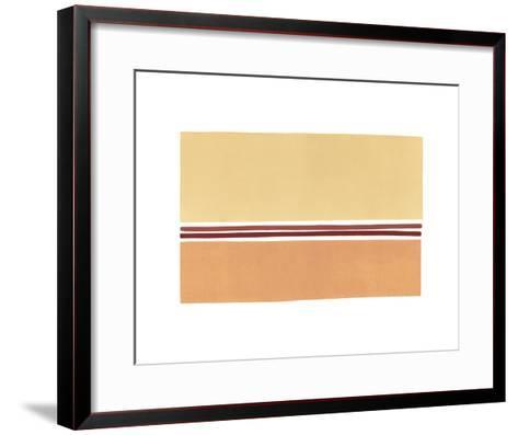 Strata I-Suze Adams-Framed Art Print