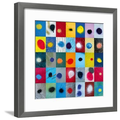 Spot the Difference-Sharon Elphick-Framed Art Print