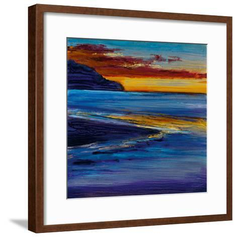Ocean's Night I-Bridges-Framed Art Print