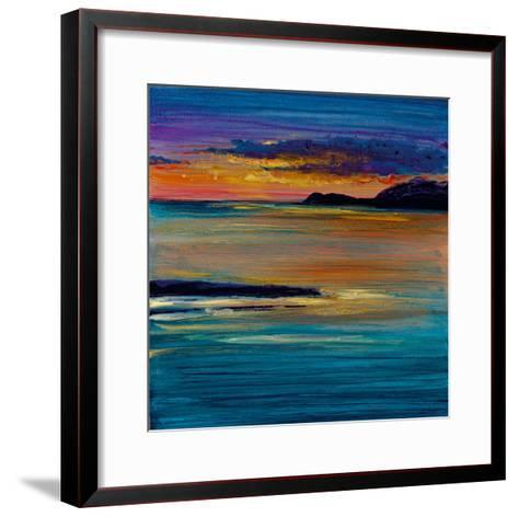 Ocean's Night III-Bridges-Framed Art Print