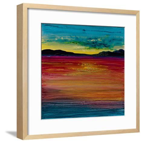 Ocean's Night IV-Bridges-Framed Art Print