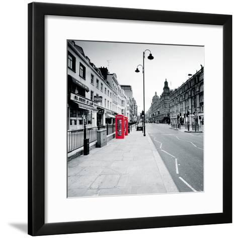 On the Line III-Joseph Eta-Framed Art Print