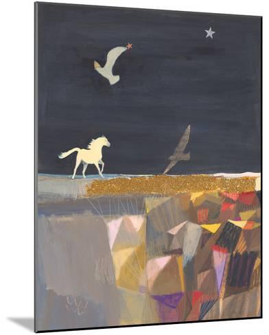 Swiftly, Softly-Ele Pack-Mounted Giclee Print