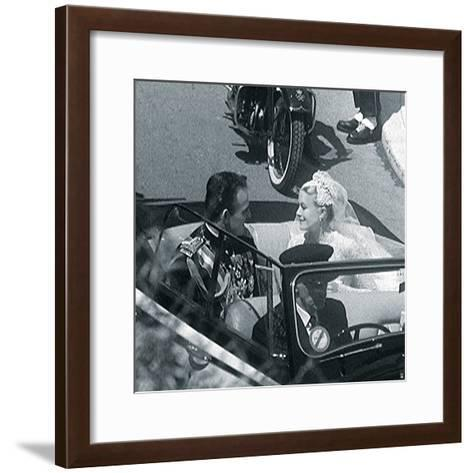 Grace Kelly VIII-British Pathe-Framed Art Print