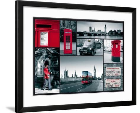 City Sights-Joseph Eta-Framed Art Print