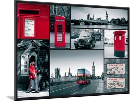City Sights-Joseph Eta-Mounted Giclee Print