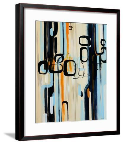 Retro I-Bridges-Framed Art Print