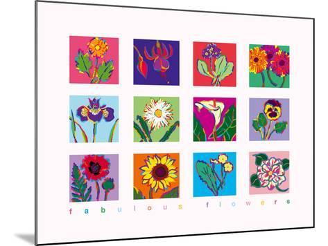 Fabulous Flowers-Gerry Baptist-Mounted Giclee Print