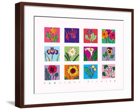 Fabulous Flowers-Gerry Baptist-Framed Art Print