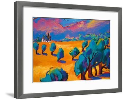 Hot Summer's Day-Gerry Baptist-Framed Art Print