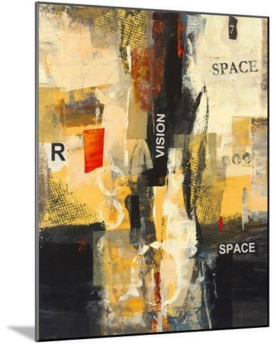 Cubic Abstract I-Georges Generali-Mounted Giclee Print