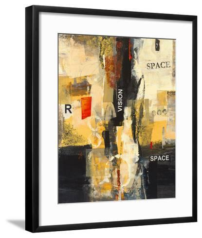Cubic Abstract I-Georges Generali-Framed Art Print