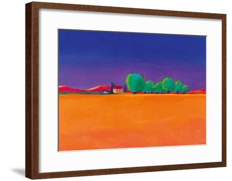 The Olive Grove-Gerry Baptist-Framed Art Print