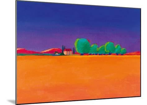 The Olive Grove-Gerry Baptist-Mounted Giclee Print