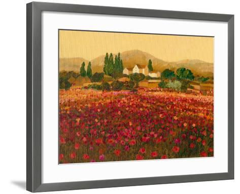 Evening Light, Languedoc-Hazel Barker-Framed Art Print